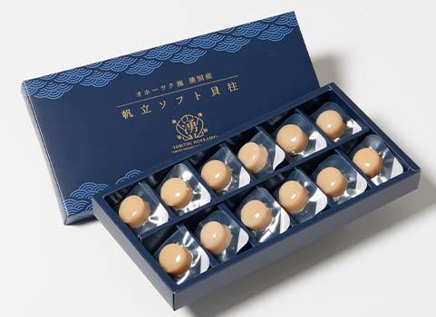 ソフト貝柱 12玉(北海道産・ほたて珍味)