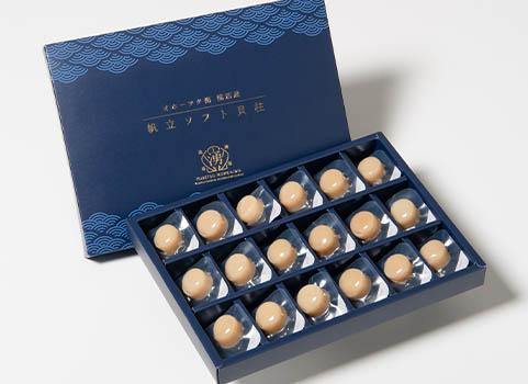 ソフト貝柱 18玉(北海道産・ほたて珍味)