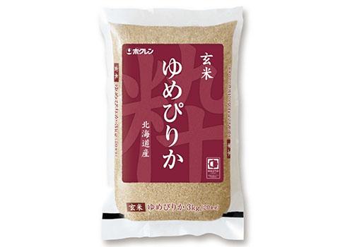 北海道米 玄米ゆめぴりか 3kg×2(北海道産)