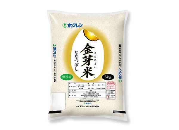 北海道米 金芽米ななつぼし【無洗米】5kg(北海道産)