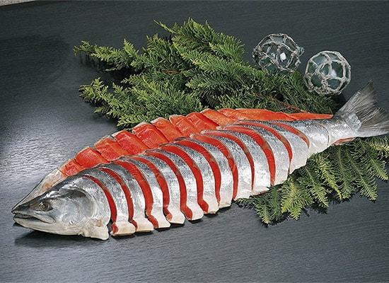 塩紅鮭姿切身(2.5kg)