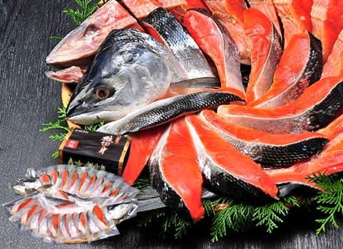塩紅鮭「低温熟成造り」1.5kg(甘塩仕立て・個別包装)