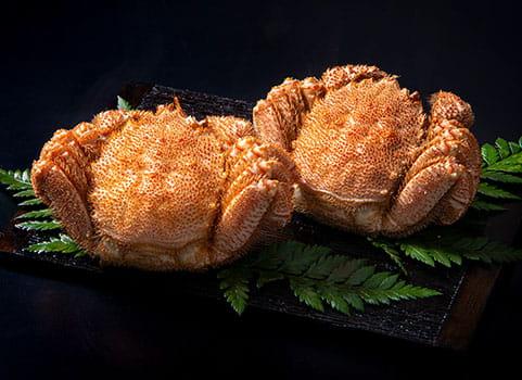 北海道宗谷産 浜ゆで毛がに400g×2尾 (ボイル冷凍)