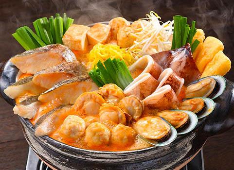 坦々海鮮鍋
