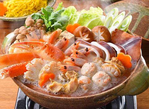 海鮮しお鍋【3~4人前】(具材7種・たれ付)