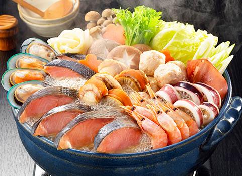 石狩鍋【3~4人前】(具材9種・たれ付)