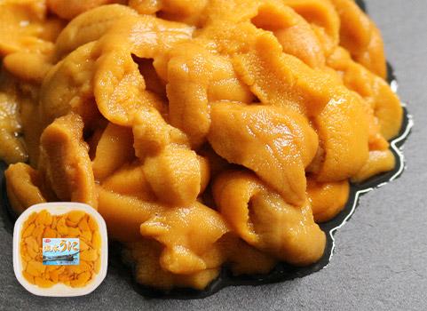 羅臼産 生うに(塩水パック)100g