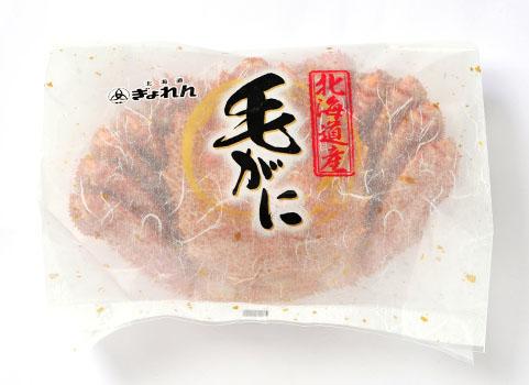 北海道産 浜ゆで毛がにパッケージ ※1尾ずつ袋に入れお届けします。
